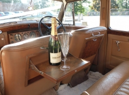 Classic 1950s Bentley for weddings in Lewes